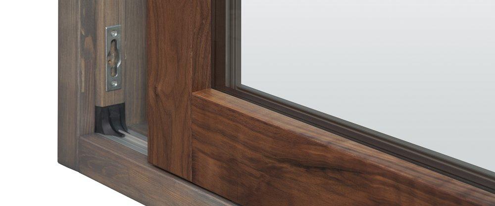 Възможност за каширане на прозорци с различни видове дървесина дъб, американски орех, акация, ясен.
