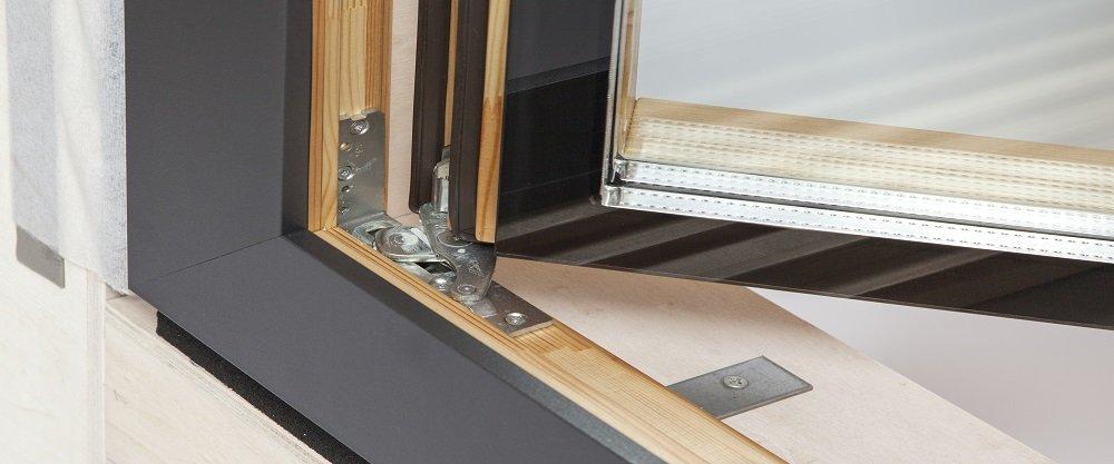 Структурно остъклени дървени прозорци за пасивни къщи.